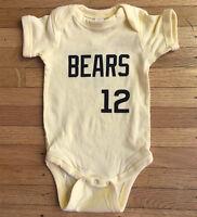 Bad News Bears Baseball Double-sided Baby Bodysuit