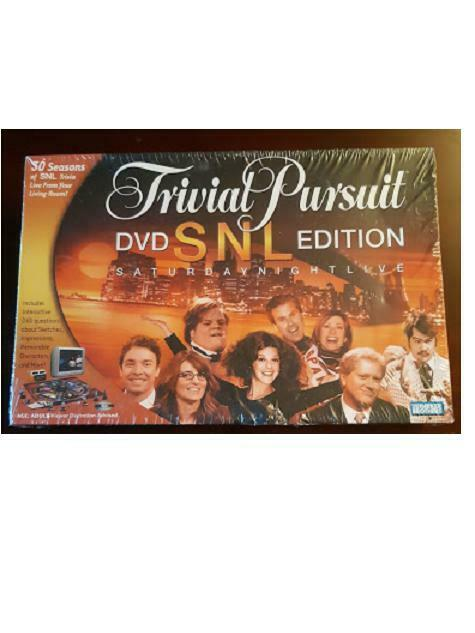 Trivial Pursuit DVD SNL Edition Saturday Night Live Live from Your Living Room