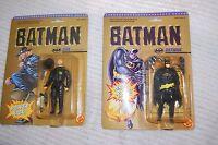 1989 Toy Biz Batman Figures Batman 4401 & Bob The Joker's Goon 4407