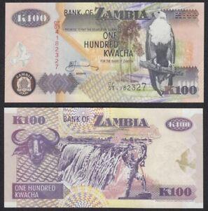 ZAMBIA-100-Kwacha-2006-SC-UNC