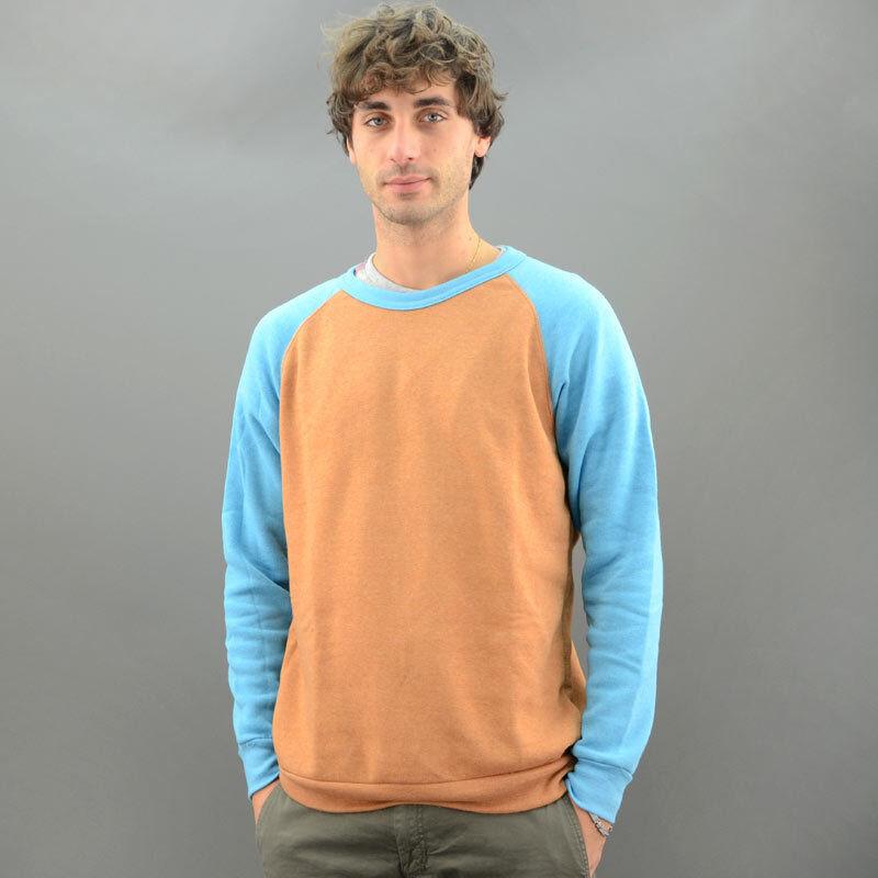 Alternative Apparel Alternative Sweatshirt Bicoloured Hazelnut Mod. 32022