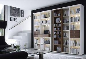 Bücherregale Modern wohnwände studio wehrsdorfer regalwand bücherregal modern ebay
