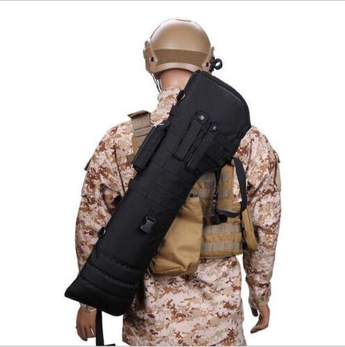 Tactical Hunting Molle Shotgun Rifle Floding Shoulder Bag Scabbard Pouch Case