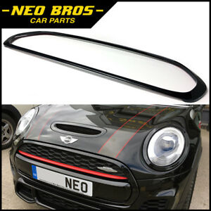 Front Grille Surround For Mini F55 F56 F57 One Cooper Jcw Gloss