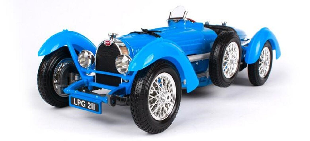 Bburago 1 18 1934 Bugatti Type 59 Diecast Model Sports Racing Car Toy Vehicle