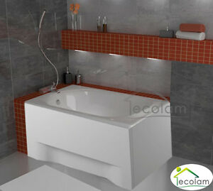 badewanne kleine wanne rechteck 100x65 110x70 sch rze ablauf silikon acryl ebay. Black Bedroom Furniture Sets. Home Design Ideas