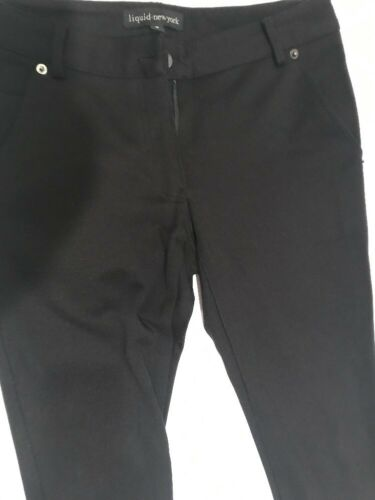 New a da liquido Ny di donna S Leggings Pantaloni Barney's Sz gamba nero York Rayon larga da gamba FPRRXxwqE