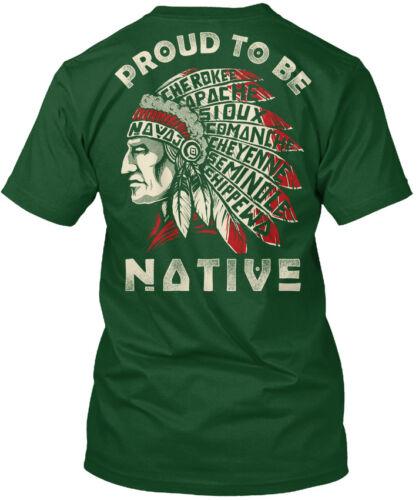 To Be Navaji Cherokee Capache Hanes Tagless Tee T-Shirt Cool Proud Native