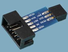 10 Pin to Standard 6 Pin Adapter Board ATMEL AVRISP USBASP STK500 de