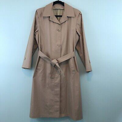 London Fog Vintage Raincoat Women S Size 12 P Ebay