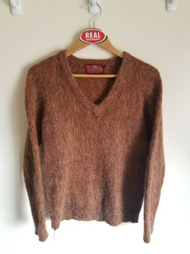 Vintage Mohair Grunge Cobain Sweater Men's Small O