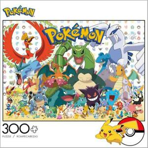 BUFFALO-GAMES-ENTERTAINMENT-COLLECTION-PUZZLE-POKEMON-FAN-FAVORITES-300-PC-2907