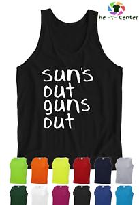 New Sun/'s Out Guns Out 21 22 Street Soleils d/'été Clubbing Beach Gilet