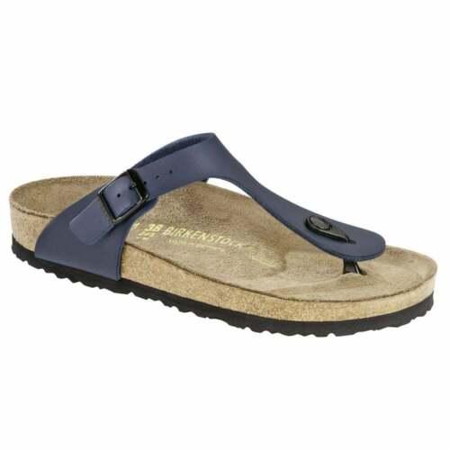 Details about  /Brikenstock Gizeh Ladies Blue Sandals 41