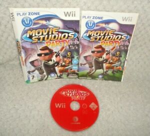 Movie Studio's Party Nintendo Wii Game DISC, MANUAL & SLEEVE ONLY
