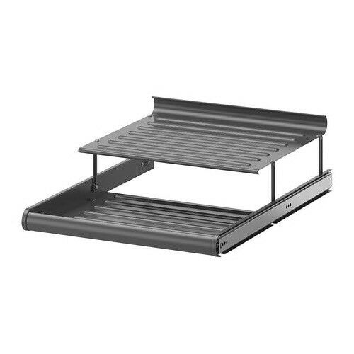 Ikea Komplement 50 x 58 cm Pull-Out Shoe Shelf Dark Grey Brand New Boxed