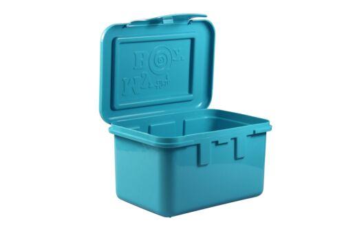 3 différentes couleurs-env 16,5 x 10 cm-Ordre Box verrouillable et empilable