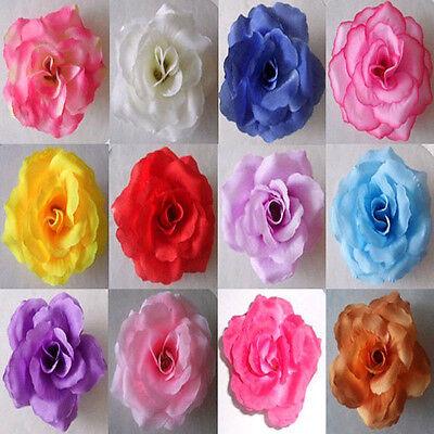 12 24 36pcs simulation flowers silk rose flower wedding wholesale
