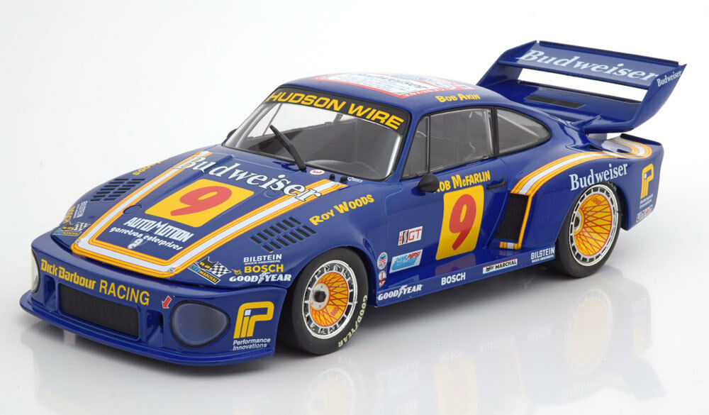 Norev Porsche 935 Budweiser 24h Daytona 1979 Woods Akin McFarlin 1 18 LE1000