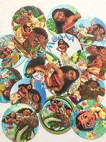 60 Moana 1 Inch Precut Bottle Cap Images For Diy Projects Bows Free Shipping