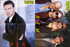 Tutto Musica Poster Manifesto – NEK - REM – 54 x 41 cm
