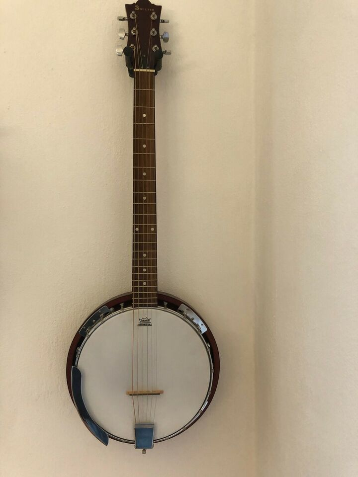 Banjo 6 strengs