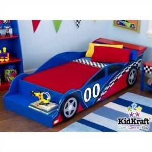 KidKraft Racecar Toddler Bed 706943760406 | eBay