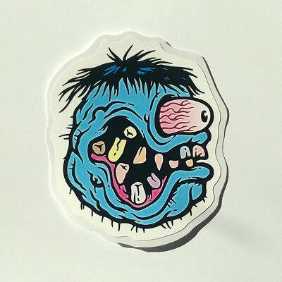 10pcs Rat Fink Head Motorcycle Graffiti Ed Roth Vinyl Decal Car Stickers