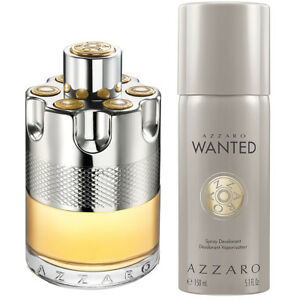 Azzaro-WANTED-edt-100ml-Spray-Deodorante-Spray-150ml-Confezione-Regalo