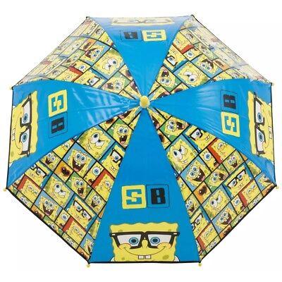 ANTI-PINCH// WIPE CLEAN MATERIAL L64CM//W71CM SPONGEBOB Bubble Umbrella Brolly