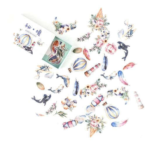 40x Planner Diary Sticker Stationery Scrapbooking Bullet Journal Album Decor DIY