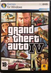Gioco-Pc-Grand-Theft-Auto-IV-GTA-4-Rockstar-Games-Usato