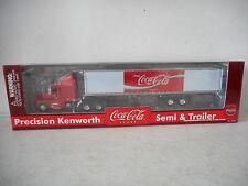 Gearbox Precision  Kenworth Semi & Trailer - Coca-Cola - Die-Cast - New in Box