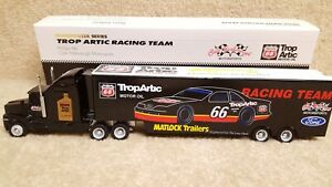 1992-Action-NASCAR-1-64-Scale-Cale-Yarborough-Phillips-66-Transporter-Hauler