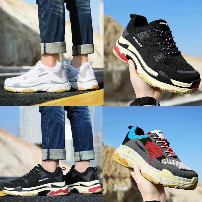 Man Woman Platform sport Shoes Lace Up Triples  Athletic Athletic Athletic  Casual aa6ab9