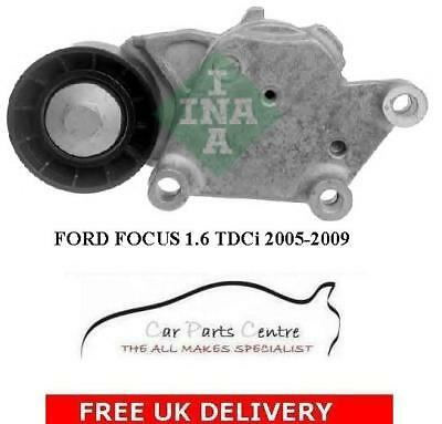 FOR FORD FOCUS 1.6 TDCi 05-09 OE QUALITY AUXILIARY FAN BELT TENSIONER NEW