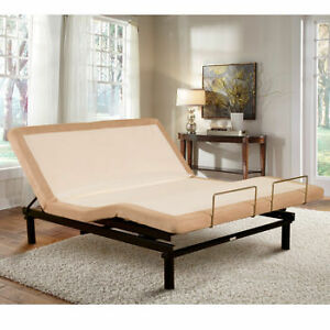 costco bed- sleep science queen adjustable bed with massage | ebay