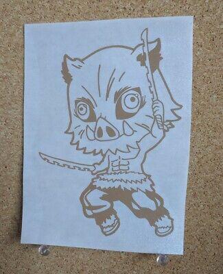 Demon Slayer Inosuke Hashibira Anime Decal Sticker for Car//Truck//Laptop