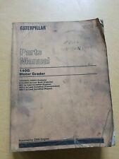 Cat Caterpillar 140g Motor Grader Parts Manual