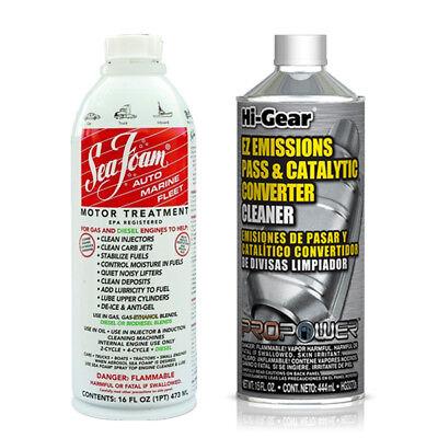 1 X Seafoam Engine Treatment Sf16 1 X Hi Gear Catalytic Converter Cleaner 18812000118 Ebay