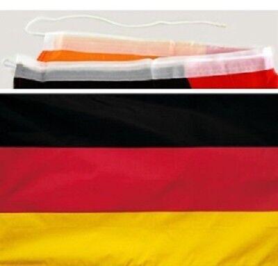 35x32 cm Deutschlandfahne für Autospiegel Auto Spiegel Flagge Fußball