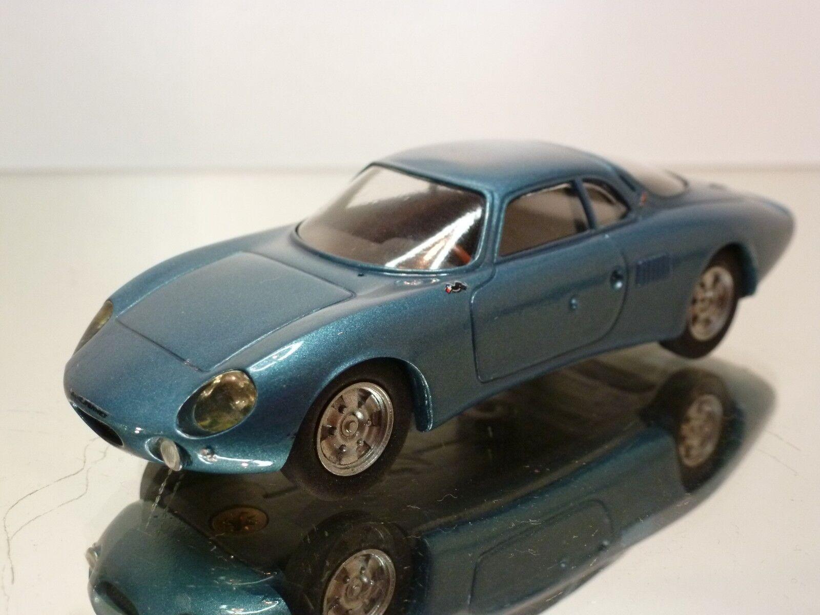 GTS RENE BONNET LE MANS 1963 - blueE METALLIC 1 43 - EXCELLENT - 11
