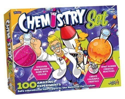 John Adams Chemistry Set 100 Fun Educational  Science Kit 10+ Age