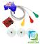 thumbnail 1 - Single Lead AD8232 Double Poles Pulse Heart Monitor ECG Sensor Arduino Kit