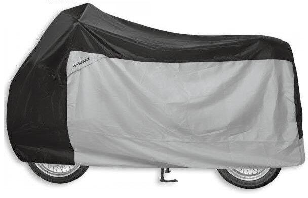 Folding Garage Held Motorcycle Size XXL Heat Resistant Cover Black Grey 9003