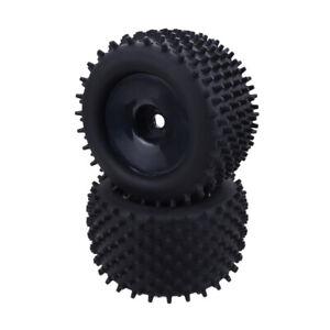 1-8-Racing-Truck-Wheels-Tires-RC-Car-Truggy-Wheels-Tires-17mm-Adapter-Black