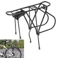 Heavy Duty Bike Bicycle Cycle Pannier Rear Rack Carrier Bracket Luggage Bag 50kg