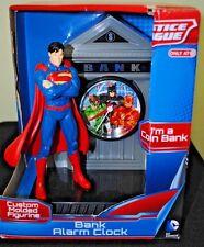 Justice League Superman DC Comics Bank Alarm Clock Coin Bank Target Exclusive