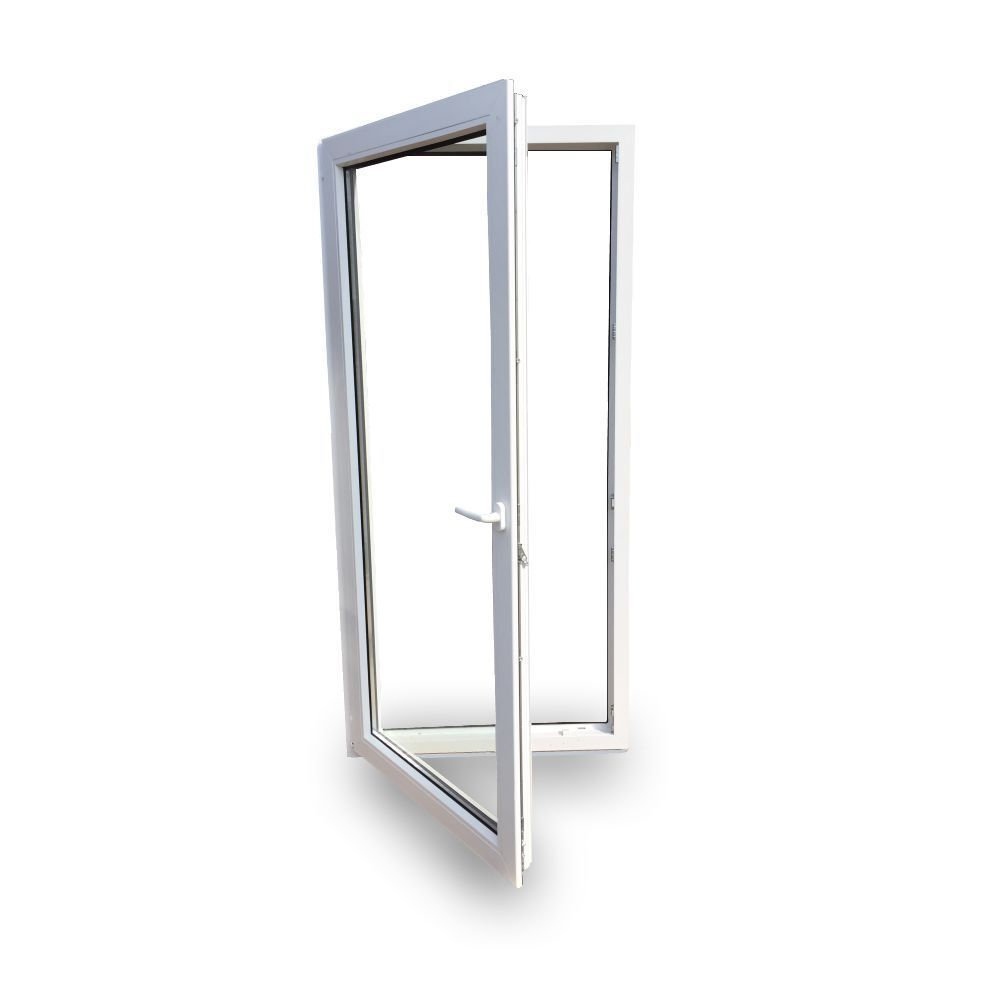 Balkontür Türe Kunststoff Tür abschließbar 2-Fach Verglasung 70 mm Rahmen