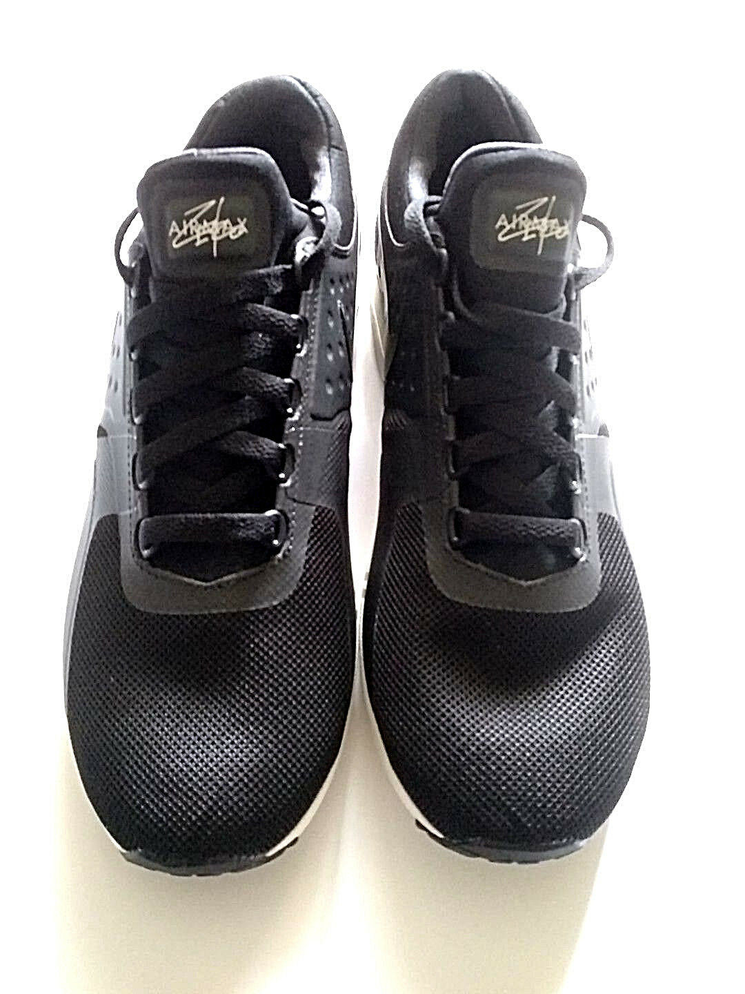 3e0513104afa ... Nike Women s Air Max Zero Black Running Sneackers Sneackers Sneackers  shoes Sz 12 ff7535